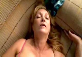 bushy blond mom love fuck bbc