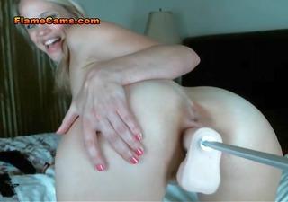 perverted blonde milf