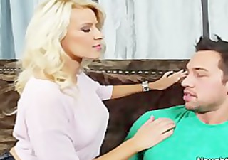 sexy blond anikka albrite booty fingered and